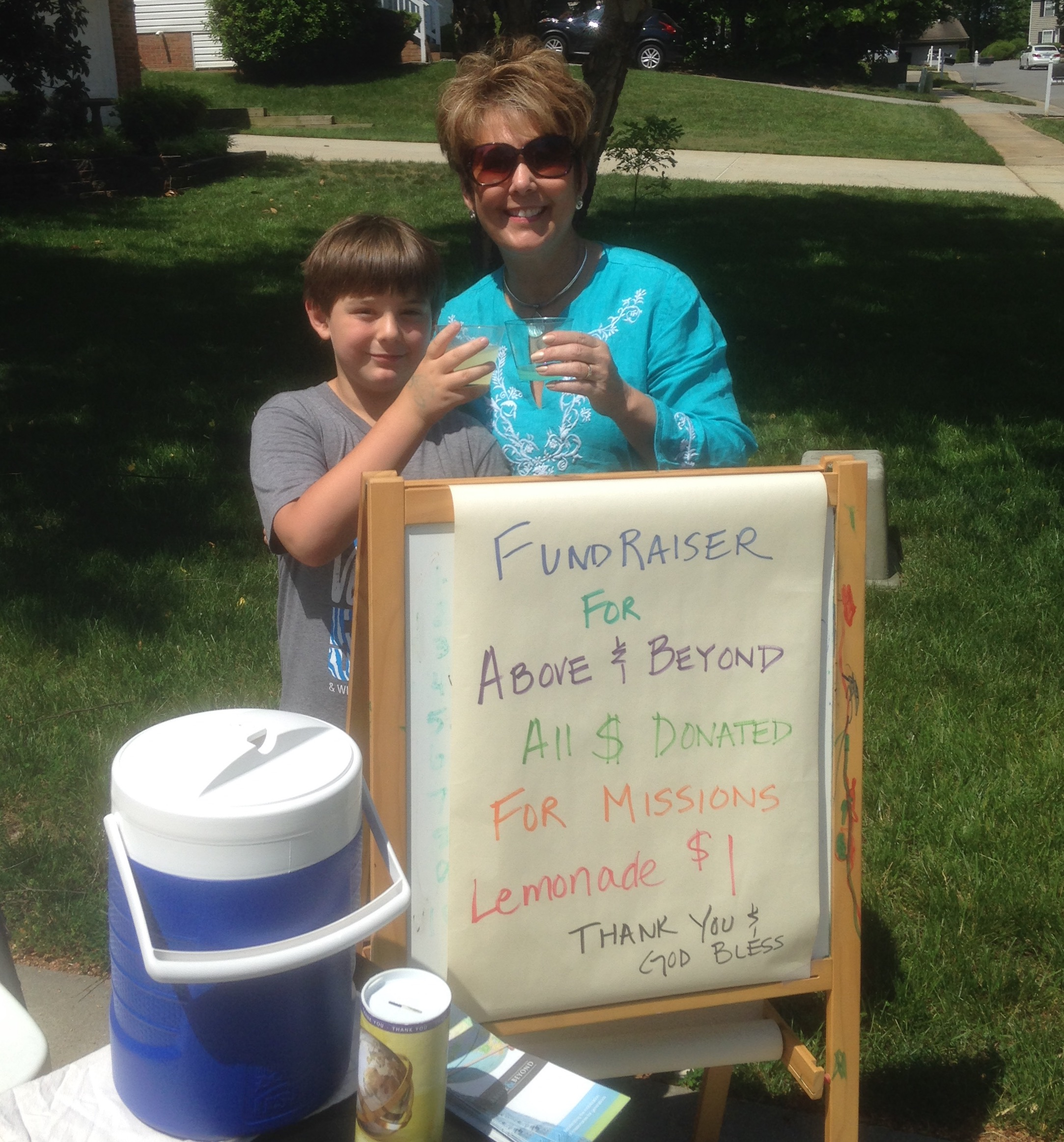 GoBeyond Lemonade Stand Above & Beyond